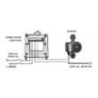 Spajanje prijemne jedinice Q3RF termostata sa cirkulacijskom pumpom