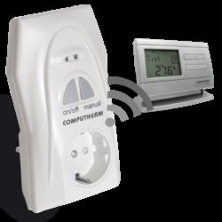 Q1RX bežični utikač-prijemnik sa Q8RF(TX) bežičnim termostatom