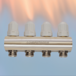 MF01 - 6 kruga - sabirnik za centralno grijanje s integriranim ventilima M30 X 1.5mm