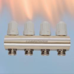 MF01 - 5 kruga - sabirnik za centralno grijanje s integriranim ventilima M30 X 1.5mm