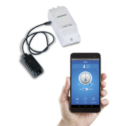S300 - Wifi sobni termostat možete upravljati uređajem koji je povezan s njim putem pametnih uređaja