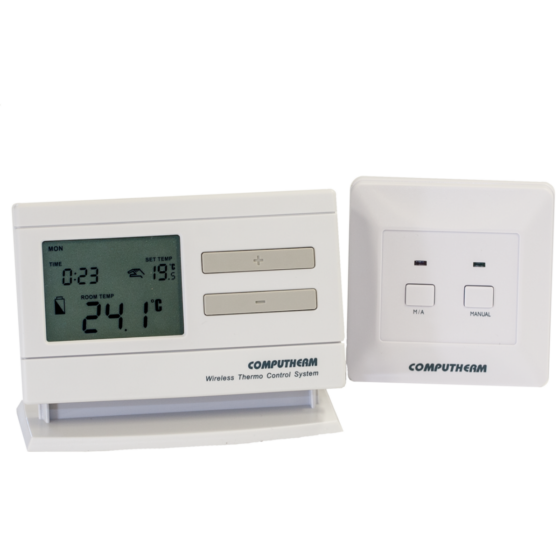 Computherm Q7RF bežični programabilni sobni termostat sa prijemnom jedinicom