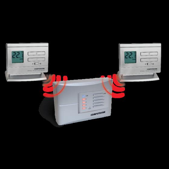 Q5RF bežični multizonski prijemnik sa 2 termostata
